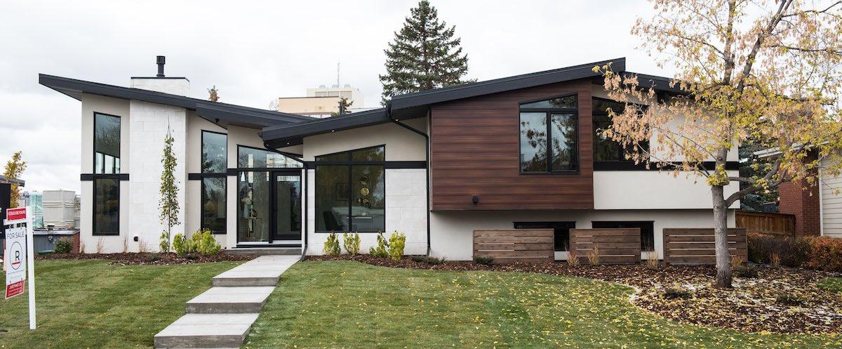 Tony william roofing siding custom exteriors in calgary Exterior home renovations calgary